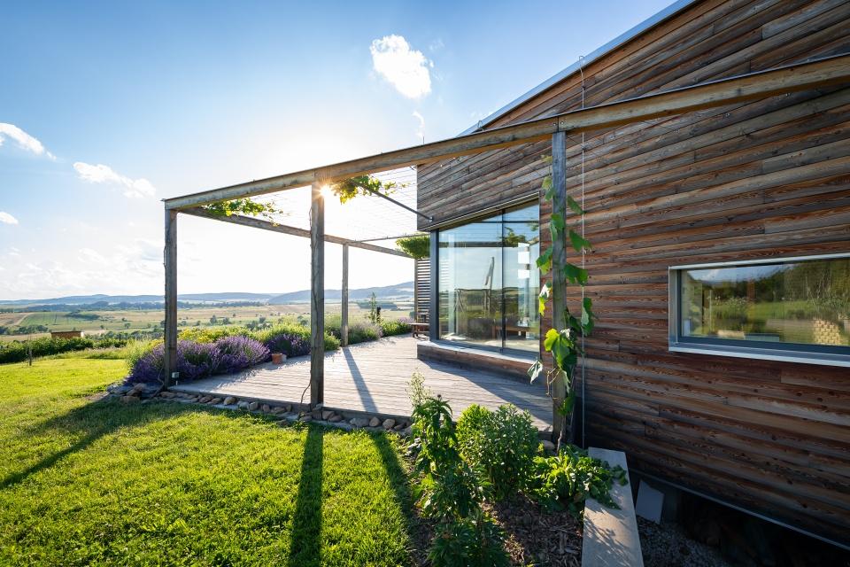 Zdravý dům zpřírodních materiálů