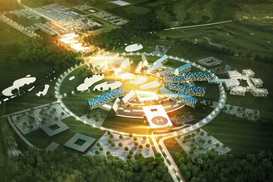 Sustainable hospital inOdense