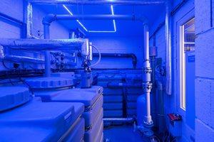 Systém recyklace šedé vody v bytovém domě Botanica K.