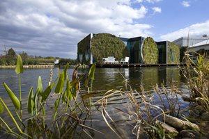 LIKO-Noe s retenčním jezírkem. Foto: LIKO-S