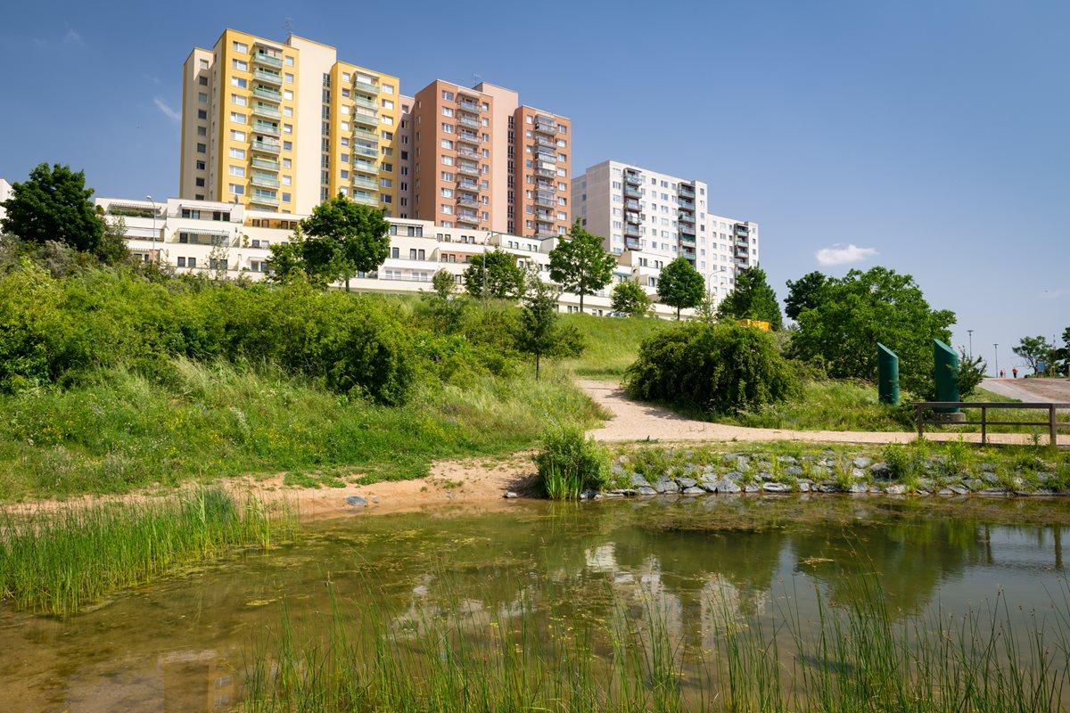 Pod Plachtami Park inBrno