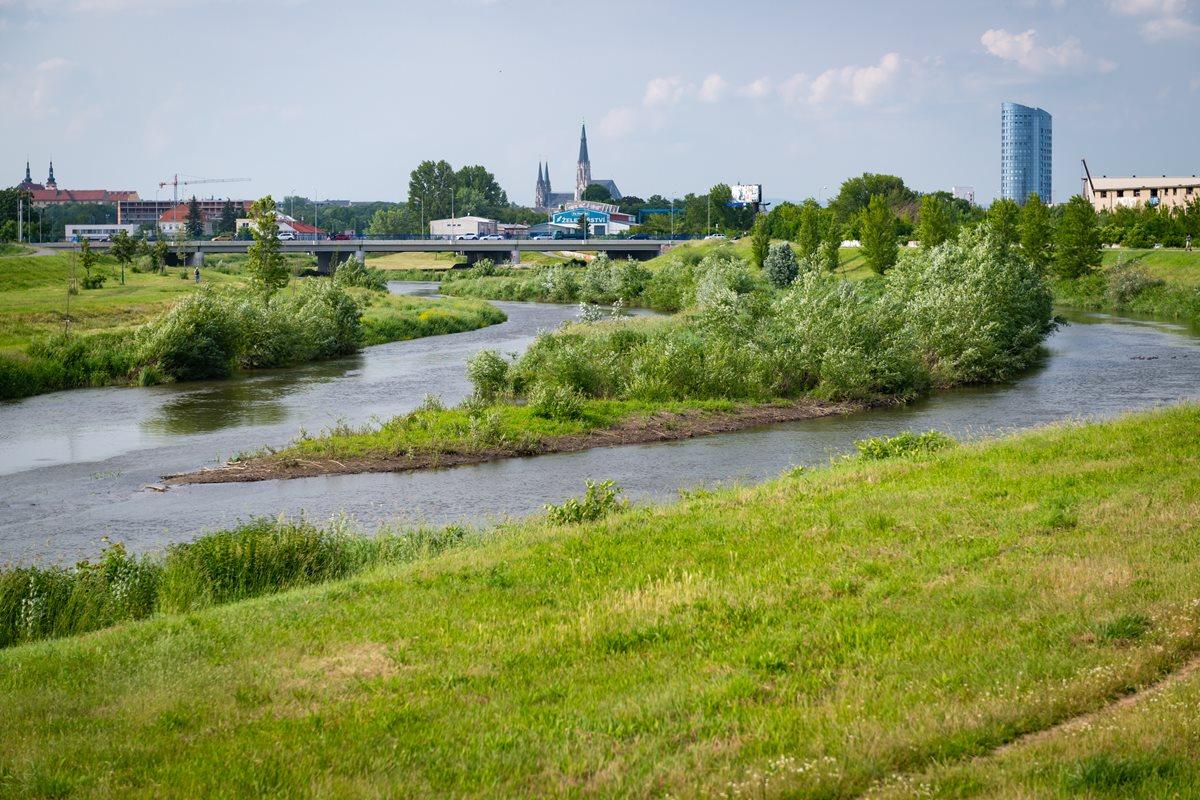 New Shape oftheMorava River intheSouth ofOlomouc